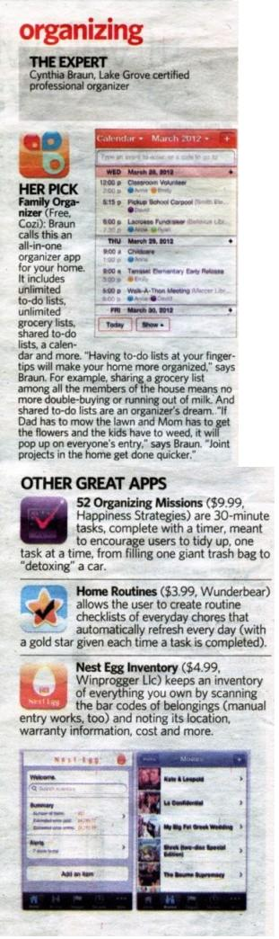 Newsday 2011 Top 20 apps