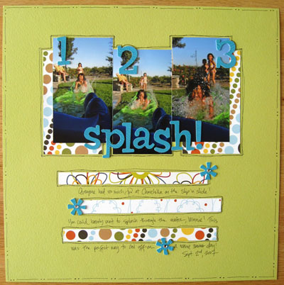 scrapbook splash